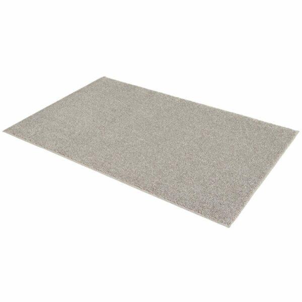 """Astra """"Samoa"""" Teppich in der Farbe Silber in liegender Ansicht."""