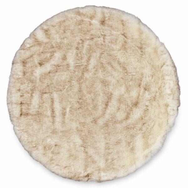 Runder Teppich Bella shape von Astra in Creme