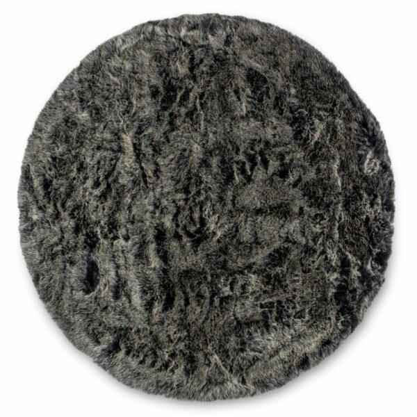 Runder Teppich Bella shape von Astra in Anthrazit