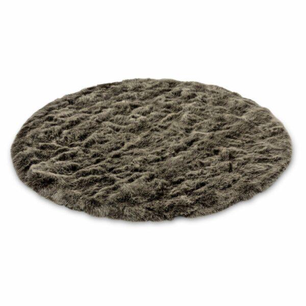 Seitenansicht Teppich Bella shape von Astra in Braun
