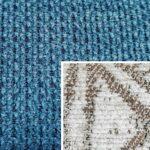 Sofabezug Paris-Creme 01 – Kissenbezug Socrates Blau 04