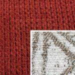 Sofabezug Paris-Cherry 35 – Kissenbezug Socrates Braun 05