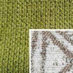 Sofabezug Paris-Grün 429 – Kissenbezug Socrates Braun 05