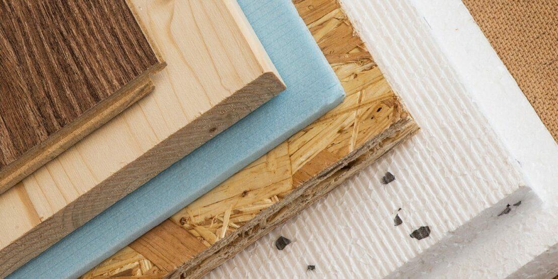Verschiedene Materialien, die bei Holzfußböden zum Einsatz kommen können