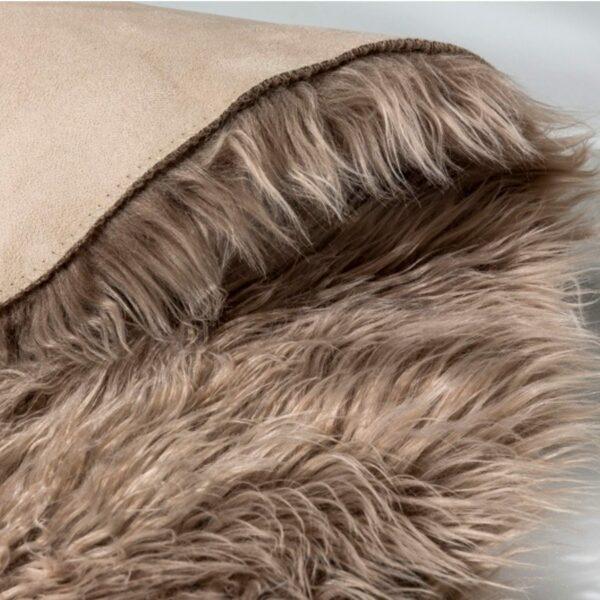 """Astra """"Mia 170"""" Teppich in braun Detailansicht"""