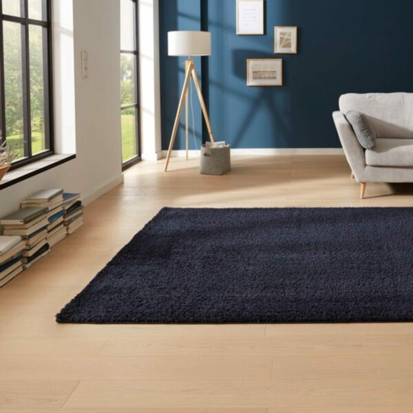 "Astra ""Rivoli 160"" Teppich in blau Wohnbeispiel"