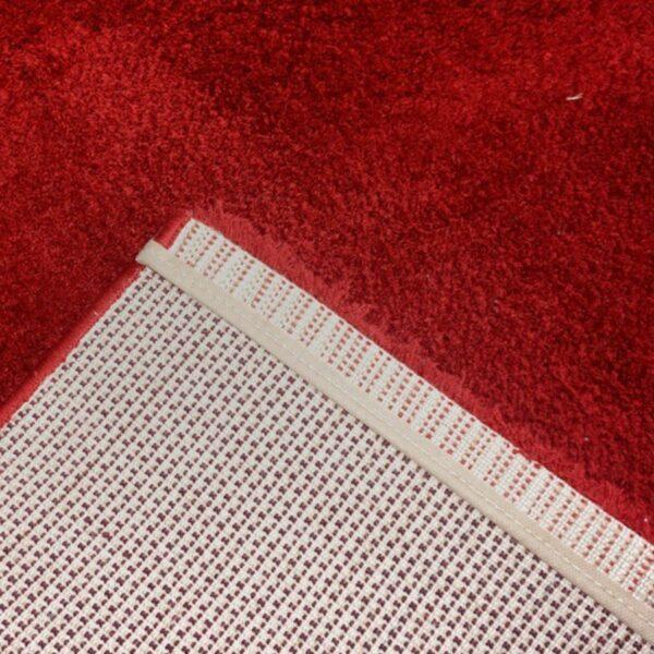 """Astra """"Rivoli 160"""" Teppich in rot Detailansicht"""