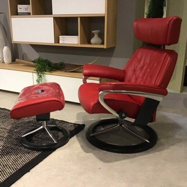 Stressless Skyline Sessel – Seitenansicht