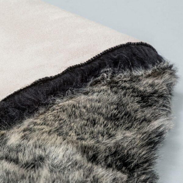 Astra Bella Teppich anthrazit – Detail