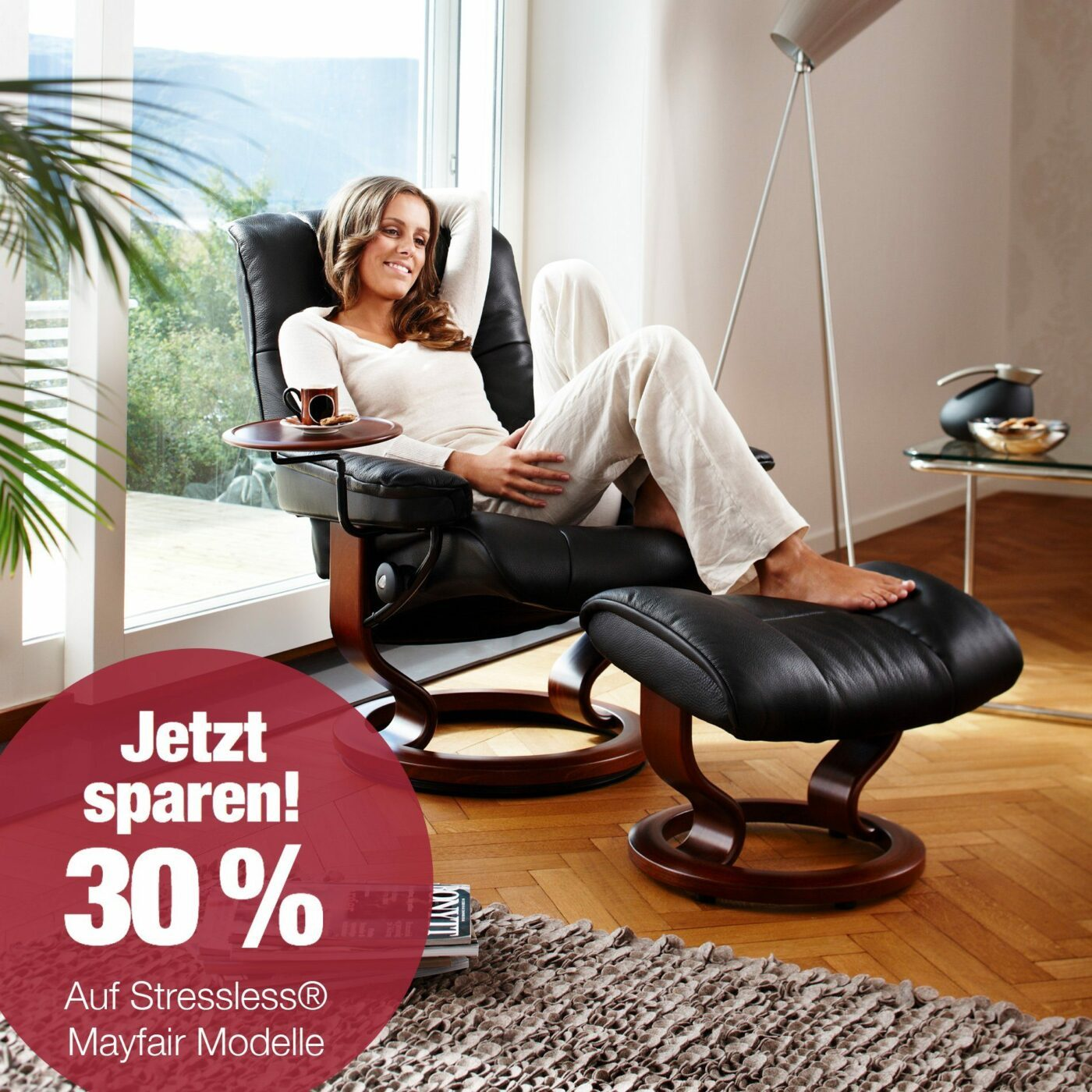 30 % Rabatt auf Stressless® Mayfair
