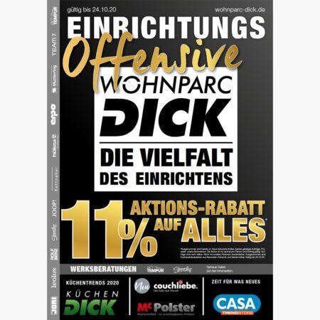 Einrichtungs-Offensive bei Wohnparc DICK