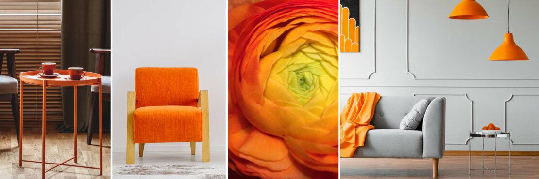 Farbkonzepte: Fröhlich-frisches Orange