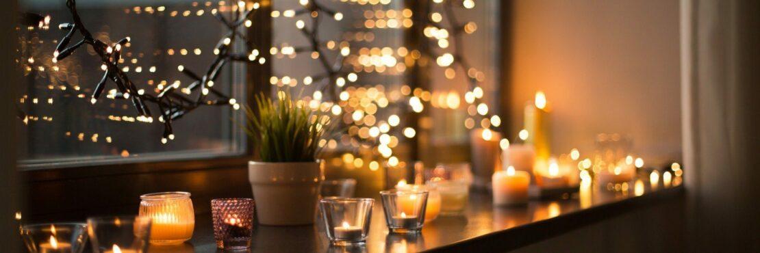 Kerzen, Lichterketten und Co.: Mini-Beleuchtung für die dunkle Jahreszeit