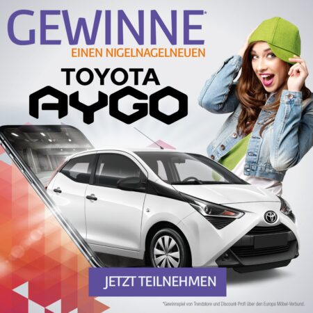Gewinnen Sie einen Toyota Aygo