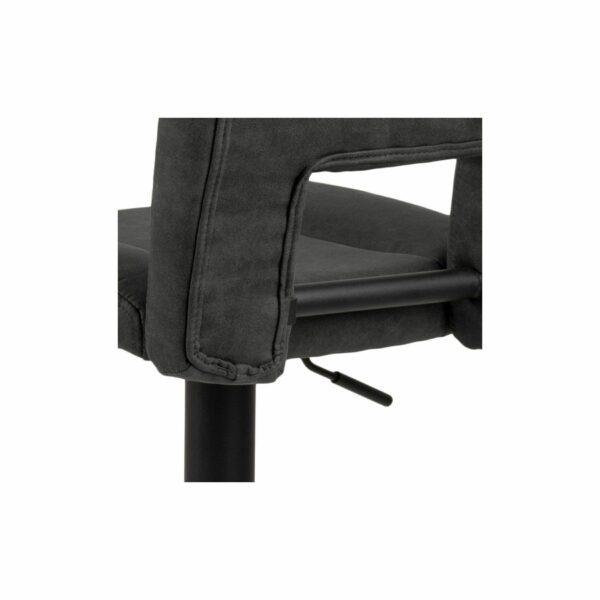 """Trendstore """"Adante"""" Barhocker anthrazit Sitzfläche Detailansicht Rücken"""