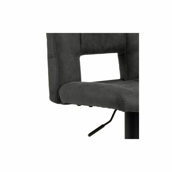 """Trendstore """"Adante"""" Barhocker dunkelgrau Sitzfläche Detailansicht"""