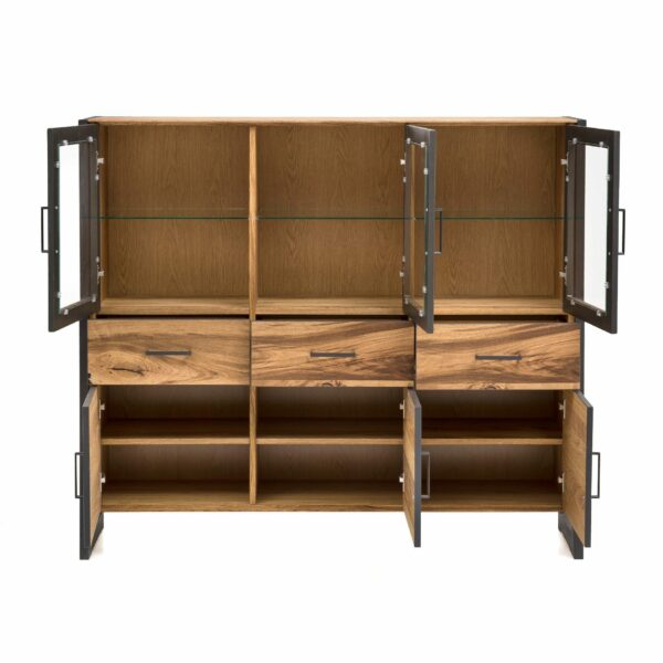 "Trendstore ""Evan"" Highboard – offen"