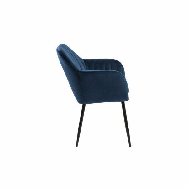 "Trendstore ""Abelia"" Stuhl dunkelblau einzeln"