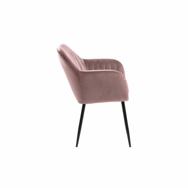 "Trendstore ""Abelia"" Stuhl rose einzeln"