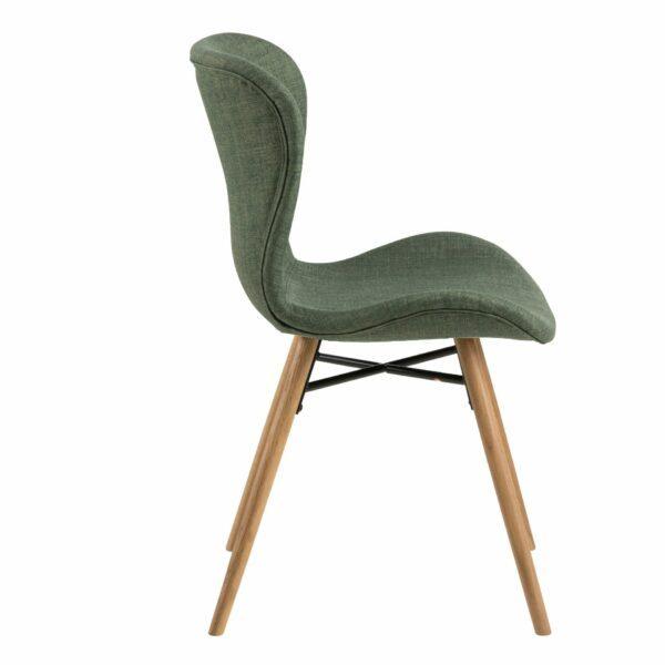 """Trendstore """"Anthea"""" Stuhl grün einzeln"""