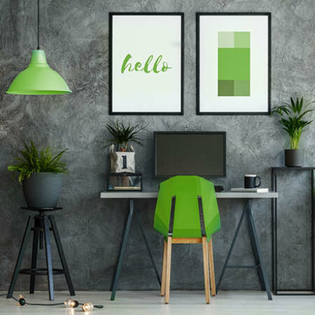 Farbkonzepte: Grün ist der Allrounder für eine lebendige Einrichtung