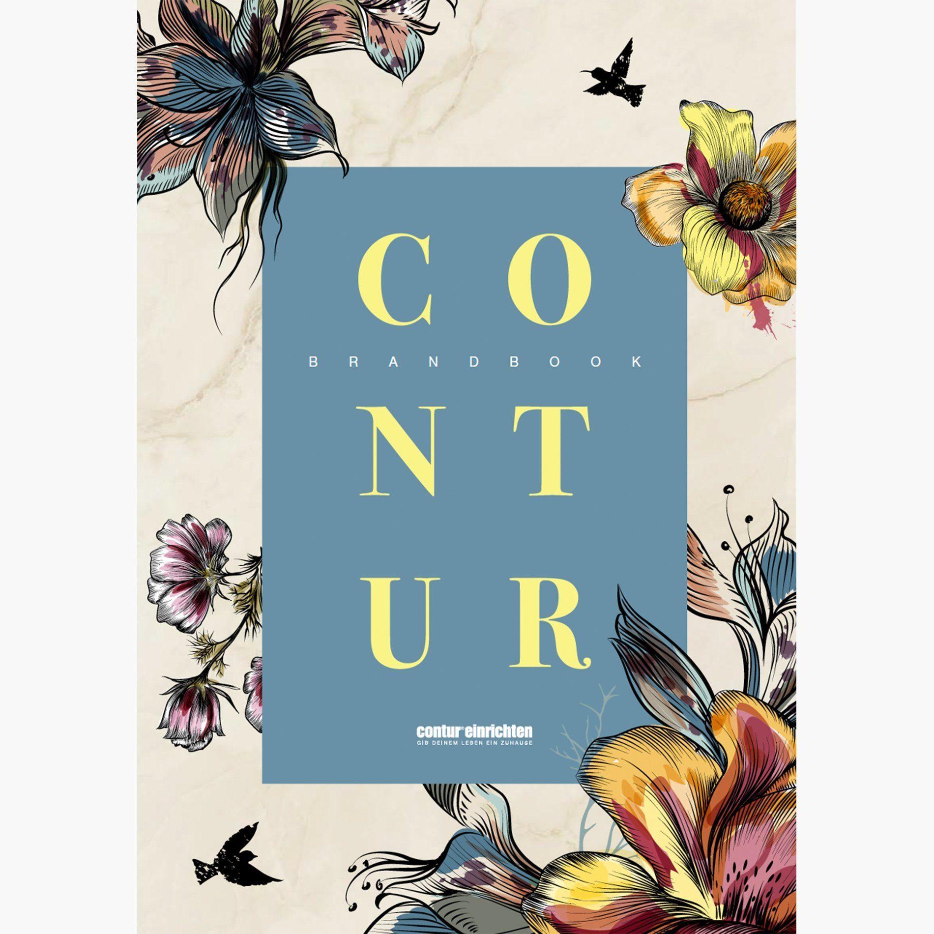 Contur Brandbook - Titelseite