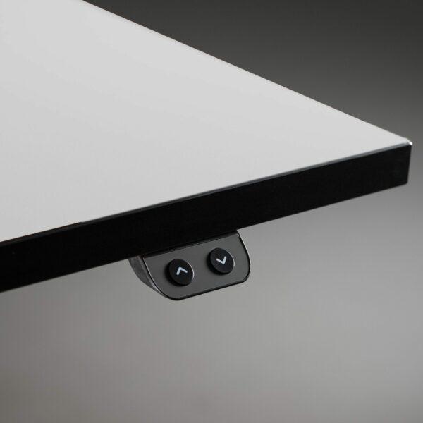 Nowy Styl eUP2 elektromotorischer Steh- und Sitzarbeitstisch – Detail Tischkante