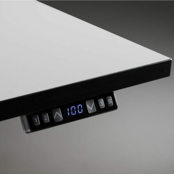 Nowy Styl eUP3 elektromotorischer Steh- und Sitzarbeitstisch – Detail Tischkante
