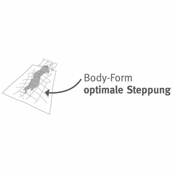 Paradies - Body-Form: optimale Steppung