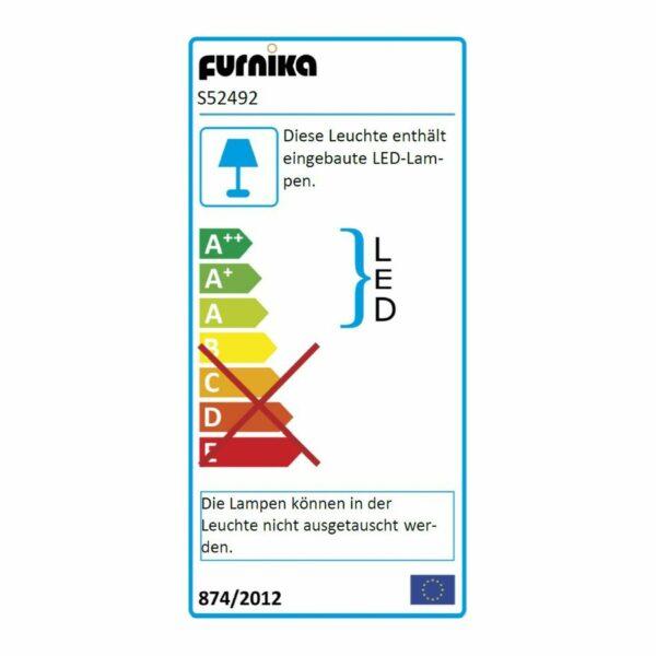 "Trendstore ""Farida"" Vitrine mit Beleuchtung Energielabel"