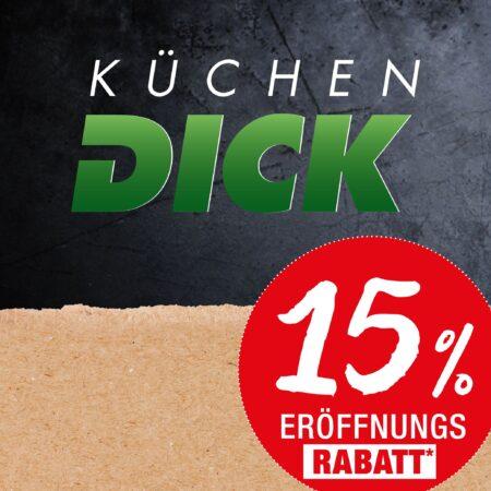 Küchen DICK Weil am Rhein: Neueröffnung nach Komplettumbau