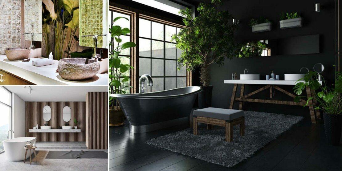 Drei verschiedene Waschbecken-Designs