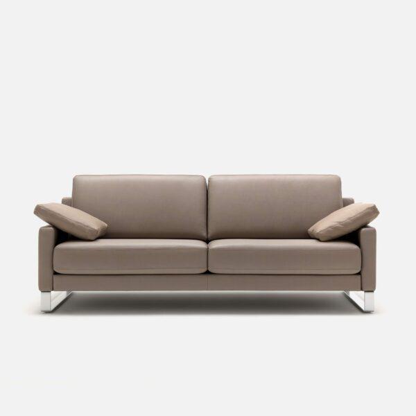 Rolf Benz Ego Sofa in Leder beigegrau