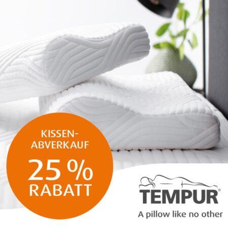 Großer TEMPUR® Schlafkissen-Abverkauf