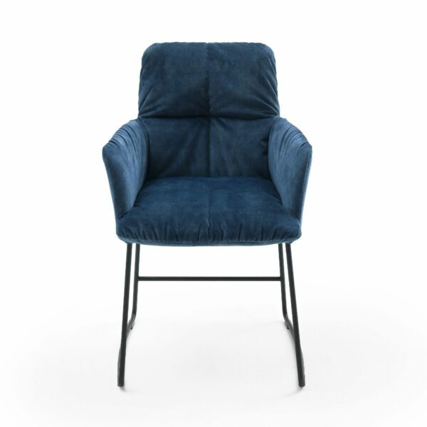 """Raum.Freunde """"Edvin"""" Stuhl ohne Armlehnen – Frontansicht"""