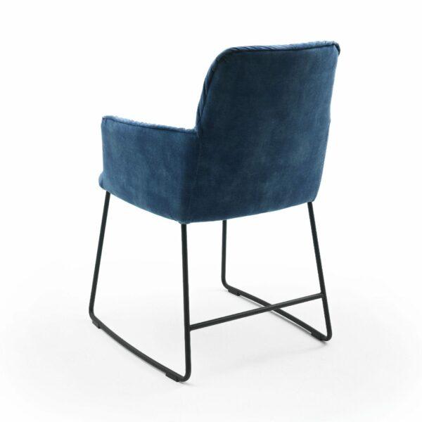 """Raum.Freunde """"Edvin"""" Stuhl ohne Armlehnen – Rückansicht"""