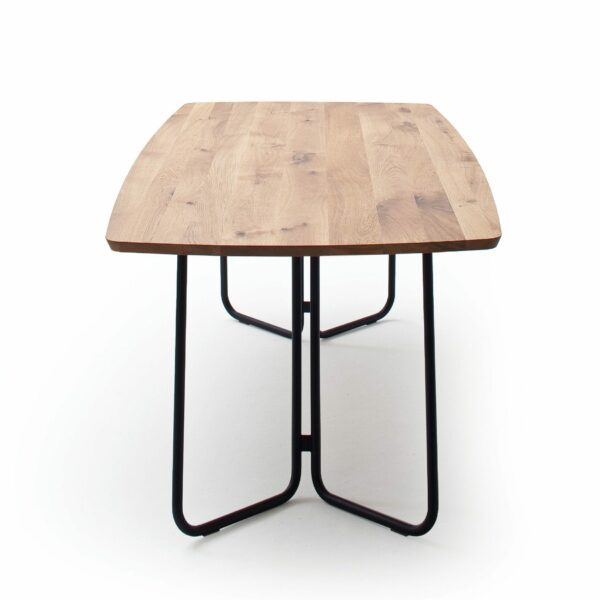 """Raum.Freunde """"Erik"""" Tisch oval – Seitenansicht"""