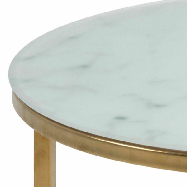 """Trendstore """"Alenia"""" Couchtisch Detailansicht Tischplatte"""