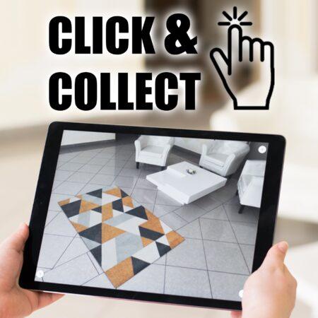 Möbel bequem abholen mit Click & Collect