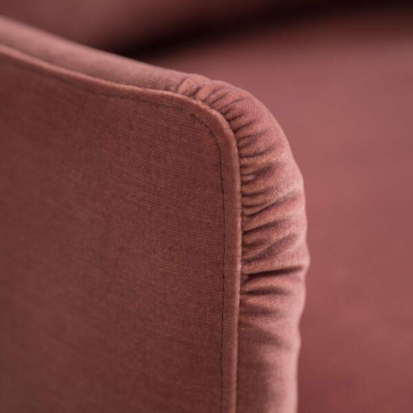 Raum.Freunde Madelen Sofa 2,5-sitzig – Detail Naht