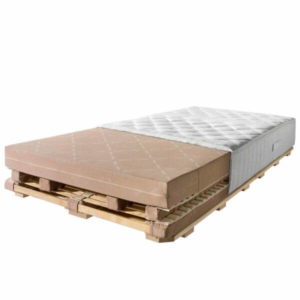 Team 7 Schlafsystem aos 90 x 200 cm, wahlweise mit festem oder weichen Liegegefühl