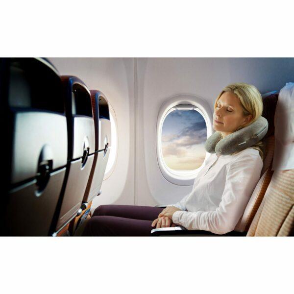 Tempur Transitkissen im Flugzeug