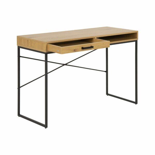 """Trendstore """"Auroa"""" Schreibtisch mit Schublade offen"""