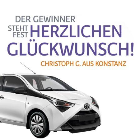 Mit dem Cityflitzer durch Konstanz - Toyota Aygo Gewinnspiel