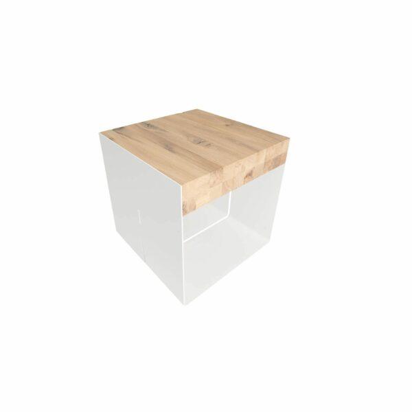 WK Wohnen Edition Beistelltisch WK 9300 Weiß