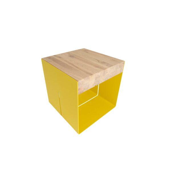 WK Wohnen Edition Beistelltisch WK 9300 Zitronengelb