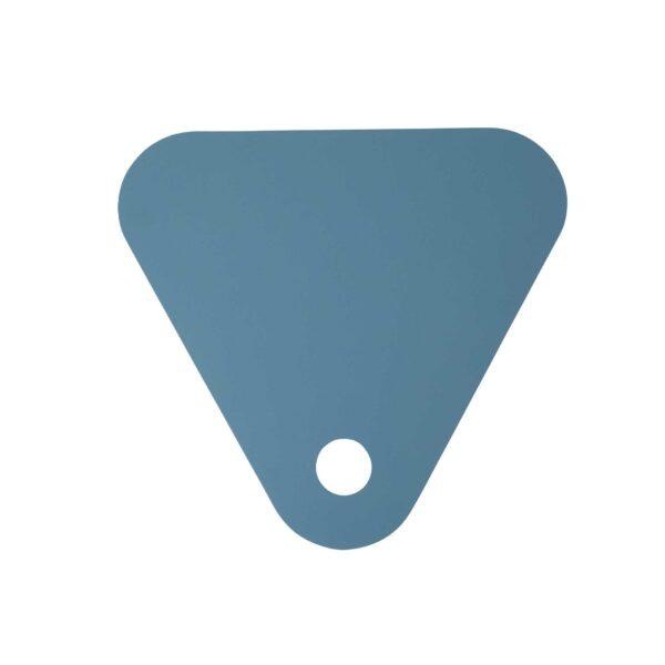 WK Wohnen 9301 Beistelltisch in der Farbe Pastellblau mit Detailansicht Tischplatte