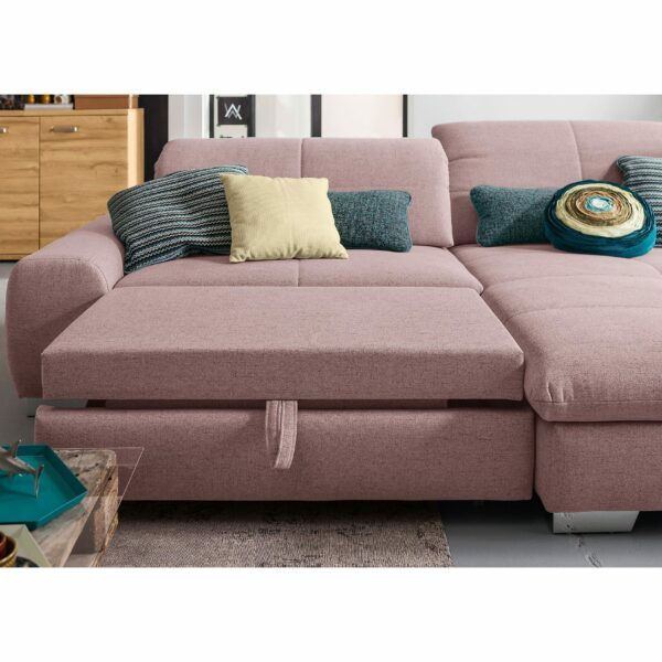 set one by Musterring Ecksofa SO 1200 in Pastel Violet – Funktion