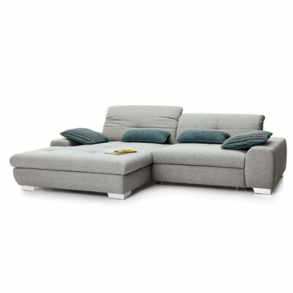 set one by Musterring Ecksofa SO 1200 in Agate Grey – Ottomane links