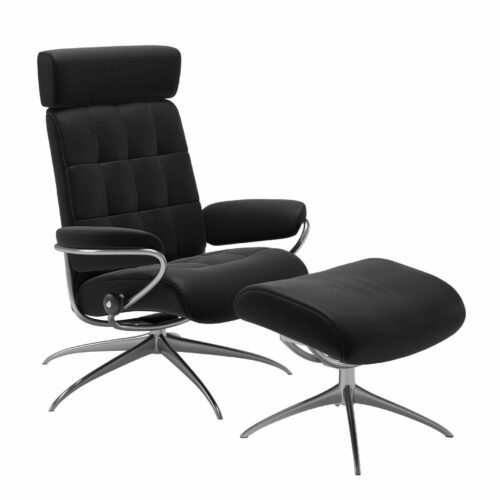 Stressless London Sessel Low Back Star mit Hocker und Kopfstütze
